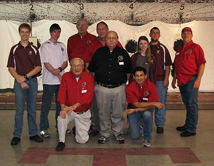 2012 Texas A&M University Pistol Team